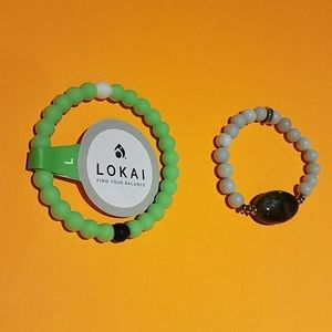 Set of New lokai and hazel and harmony bracelets
